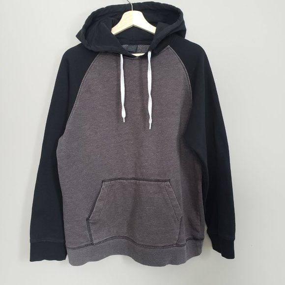 Zine Clothing Other - Zine Two-Tone Hoodie Sweater Large